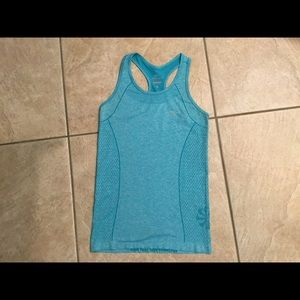 Nike Tops - NIKE turquoise tank top.  Beautiful color & detail
